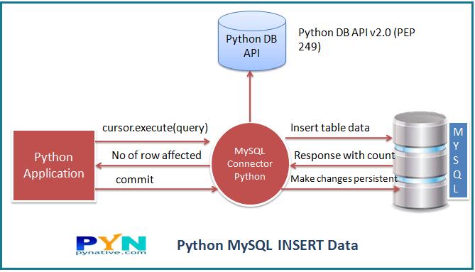 Python insert into MySQL table