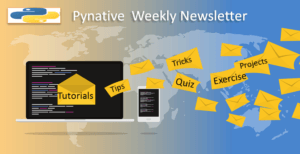 Pynative Newsletter