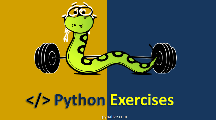 Python Exercises with Solutions