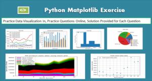 Python Matplotlib Exercise