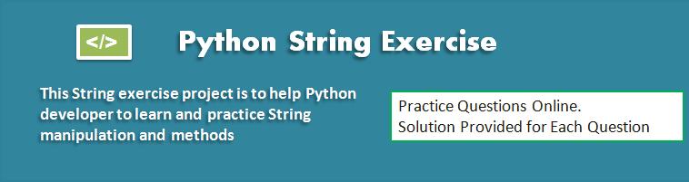 Python String Exercise