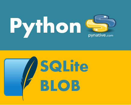 Python SQLite BLOB to Insert and Retrieve file and images