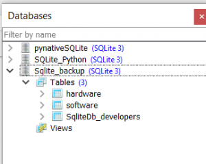 sqlite database backup from Python