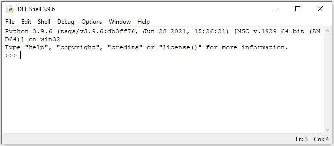 IDLE Python Editor